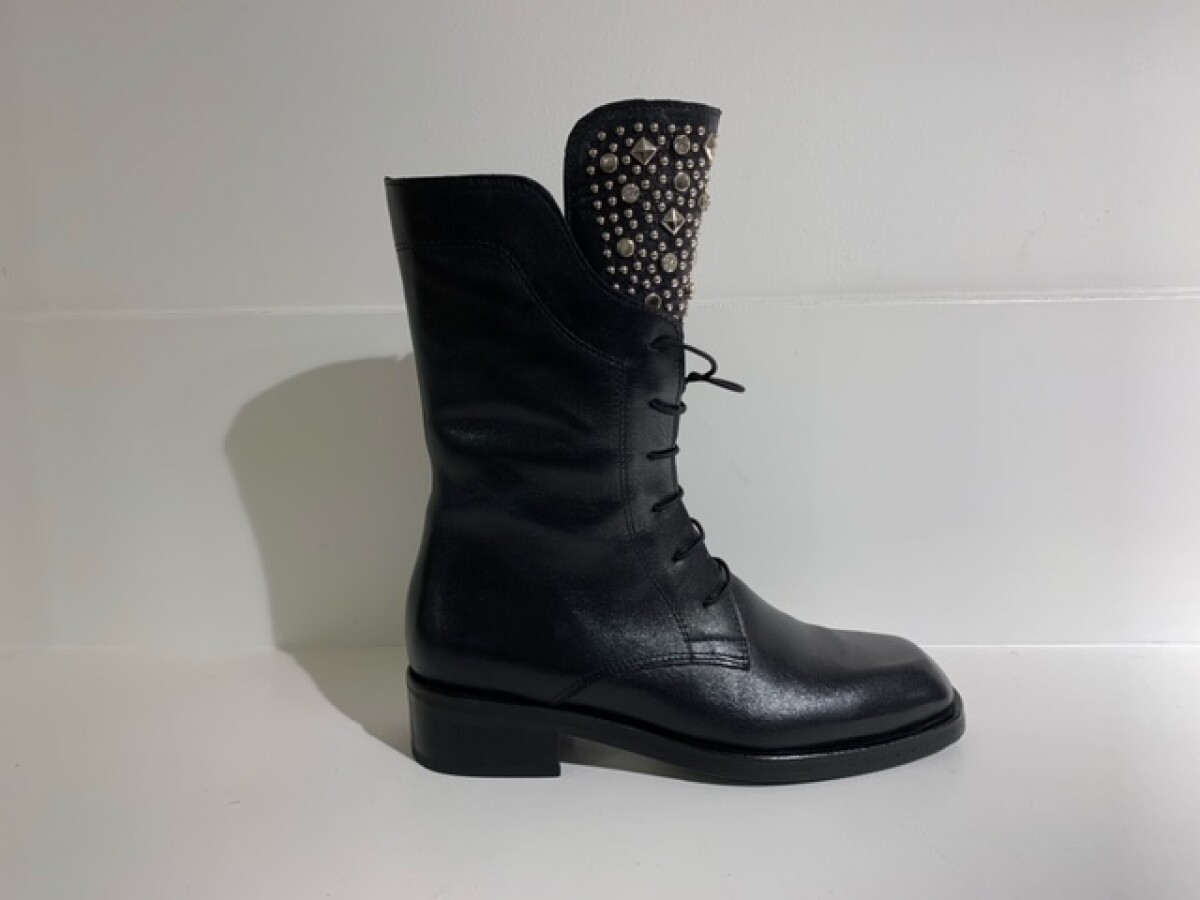 Roberto d´Angelo Boot Black strass-studs