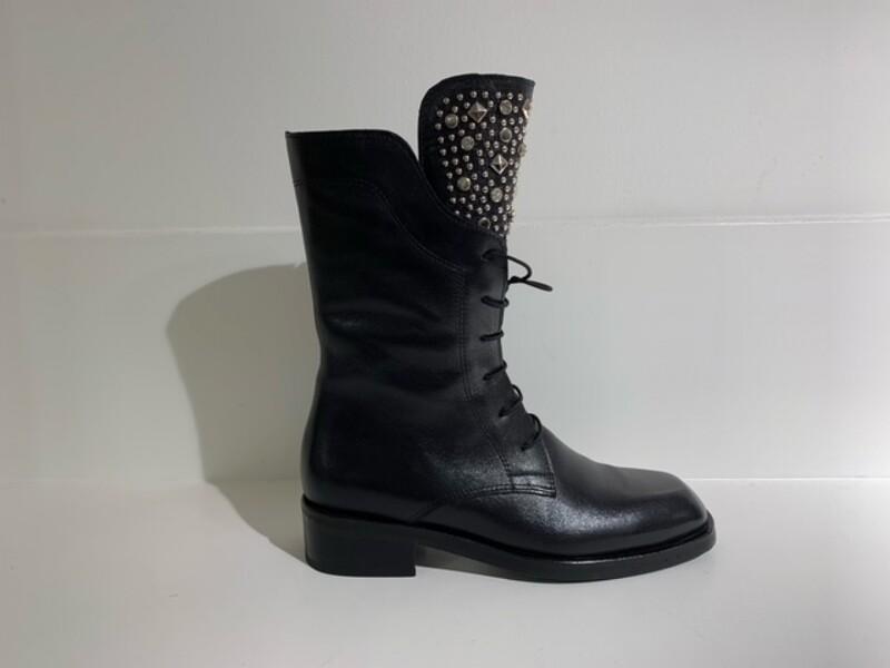 Roberto d´Angelo Boot Black strass-studs