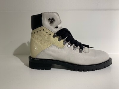 Roberto d´Angelo Creme  laqueleather boot tiger