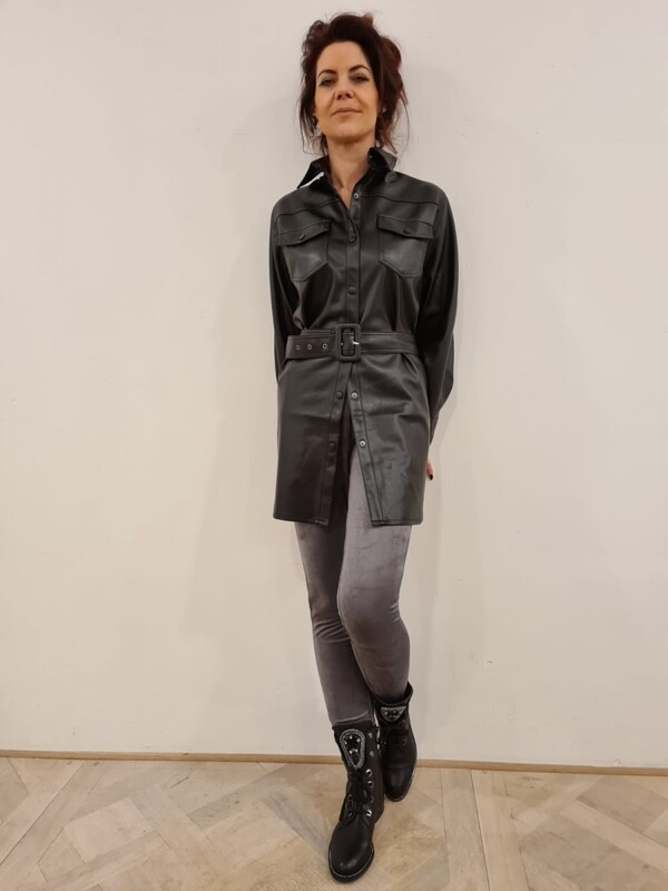 Soya Concept Beckie Tunic Veganleather