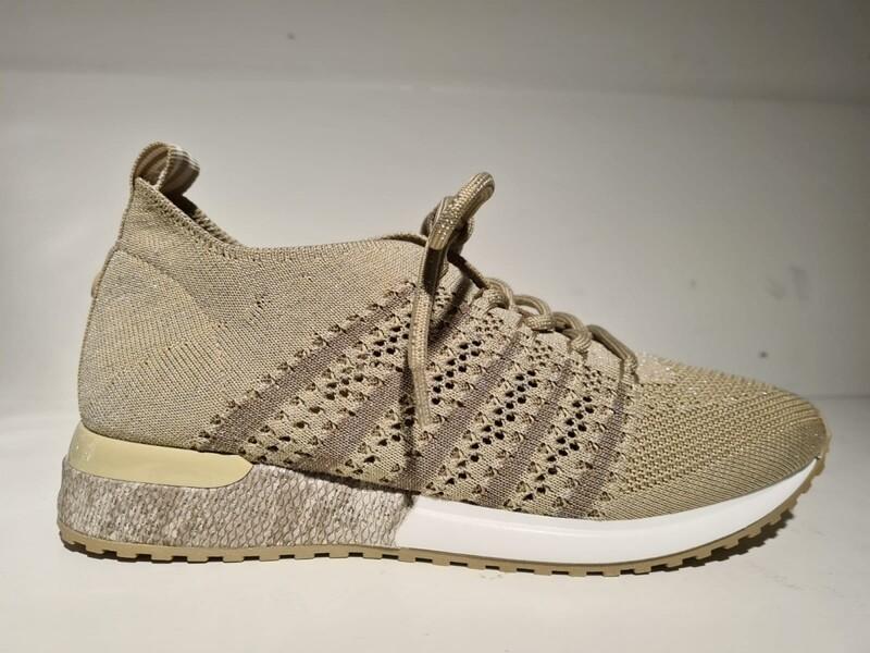 La Strada Sneaker Nude/Sand