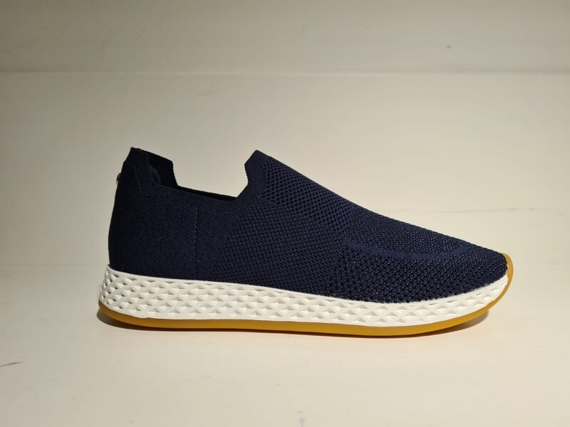 La Strada knitted sneaker Navy
