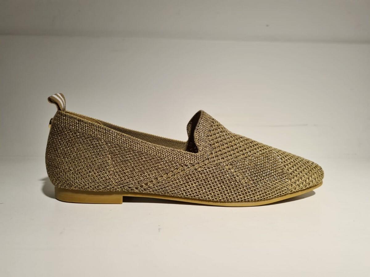 La Strada Loafer Gold