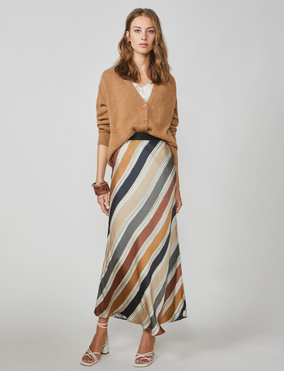 Summum Long skirt multicolour