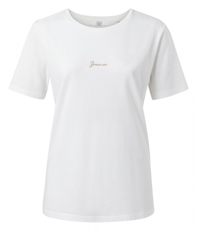 YAYA Tshirt Dreamer OFF WHITE