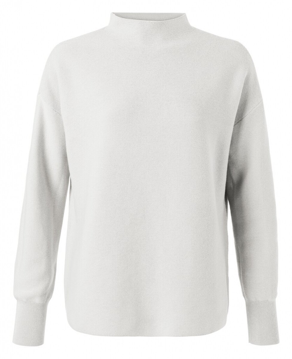 Yaya Sweater Collar OFF WHITE