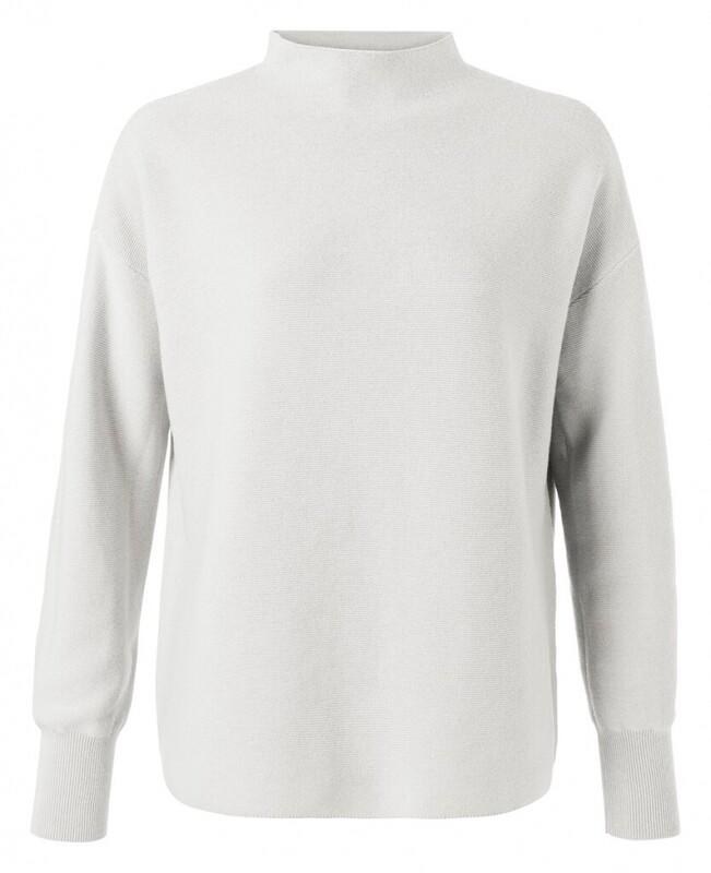 Yaya Sweater Collar OFF WHITE