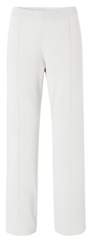 YAYA Wide leg pants OFF WHITE