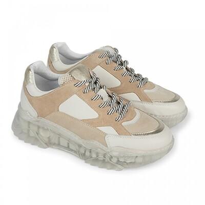 Summum Sneaker creme/gold