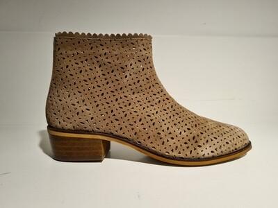 Henkelman Suède Ankle boot summer Taupe