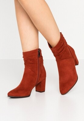 Marco Tozzi boot Rusty Red