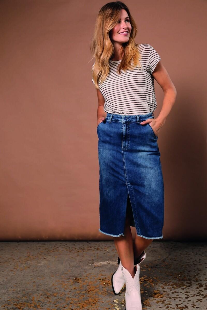 Para Mi Skirt July denim