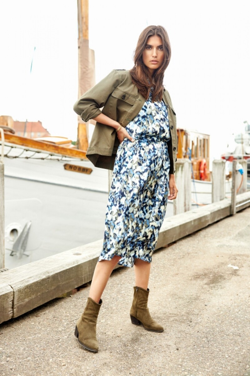 Soya Concept Dress Oana print bluemix