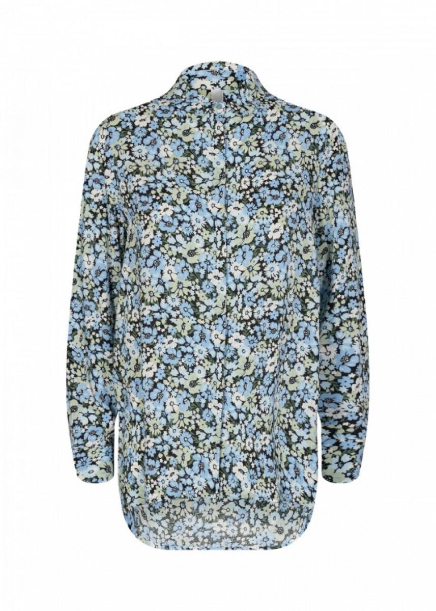Soya Concept Oaklyn blouse flower retro print