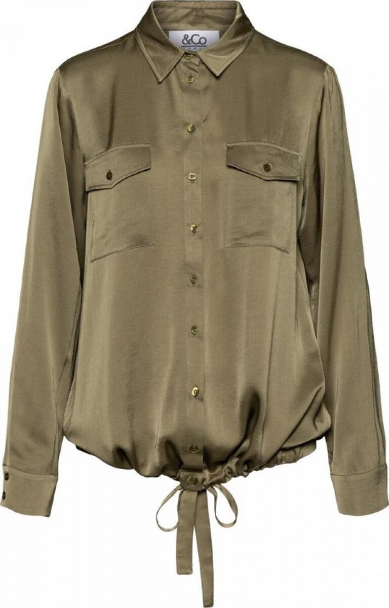 NED Blouse Brixt Army Green