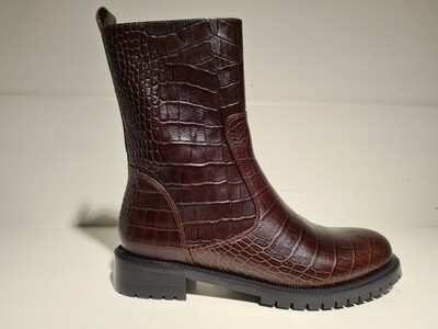 Prend Shoes Boot Leather Brown