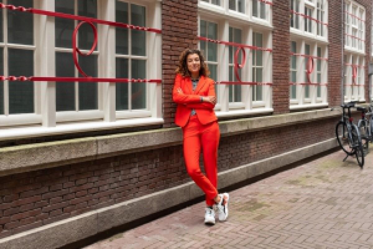 &Co Blazer Cayenne Madarine red