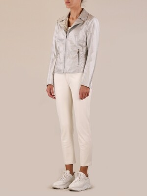 Rino & Pelle Jacket Gina Metallic Silver