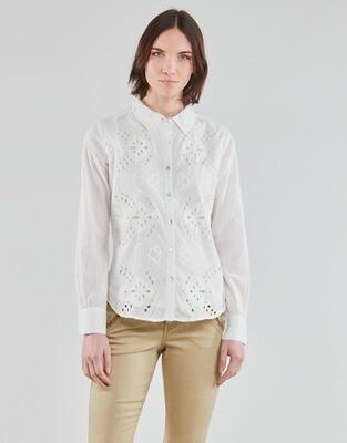 Cream blouse / 10607965 White