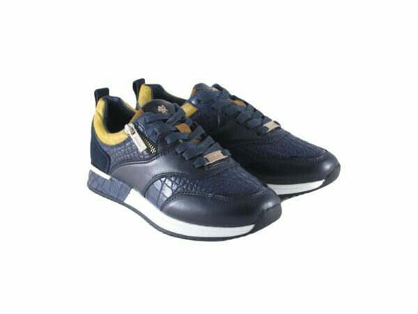Mexx sneaker Finni Dark Blue/Yellow