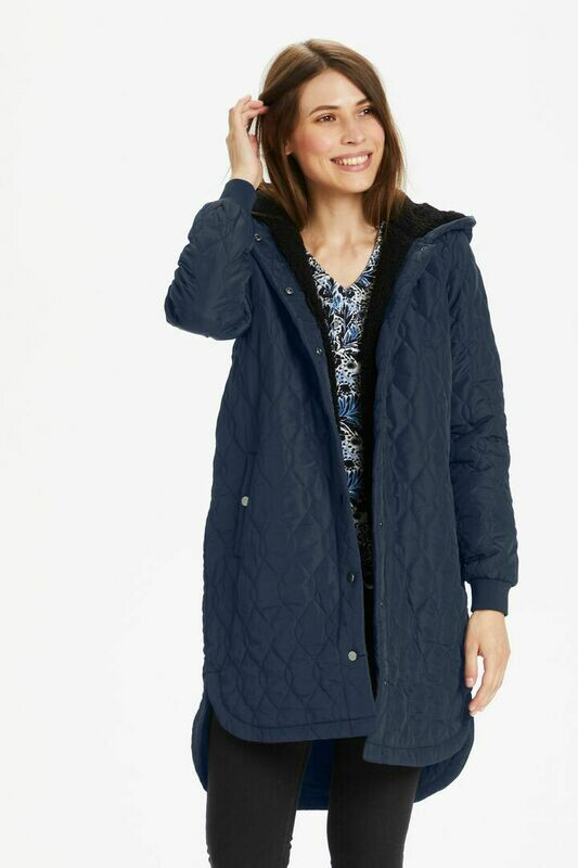 Kaffe Salle Coat Dark blue
