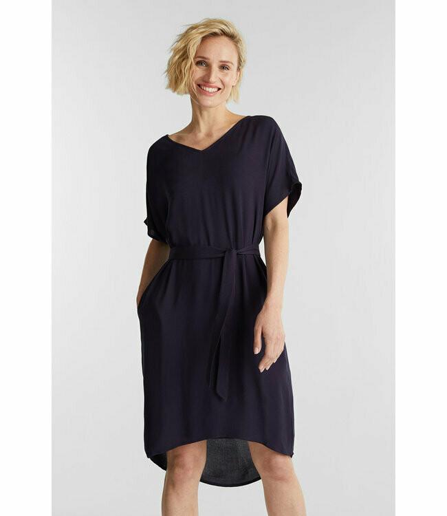 Esprit Viscose dress Dark blue