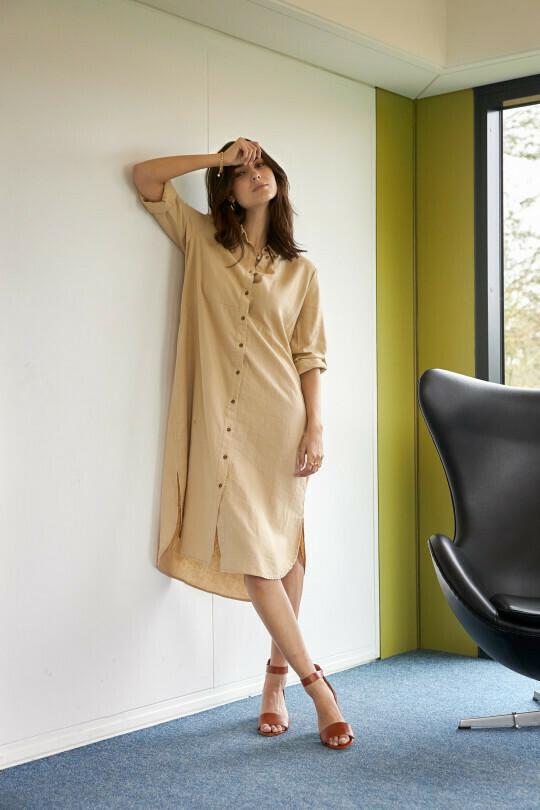 Soya Concept Dress sand