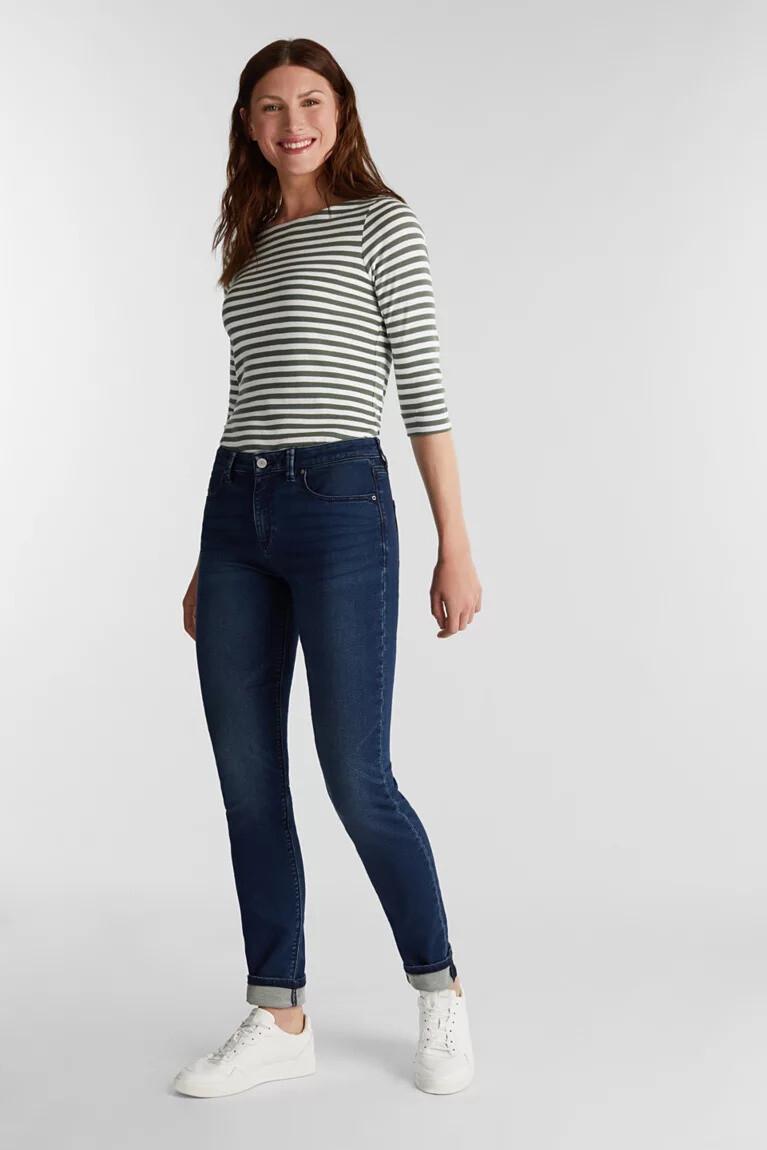 Esprit Jeans van zachte joggingstof