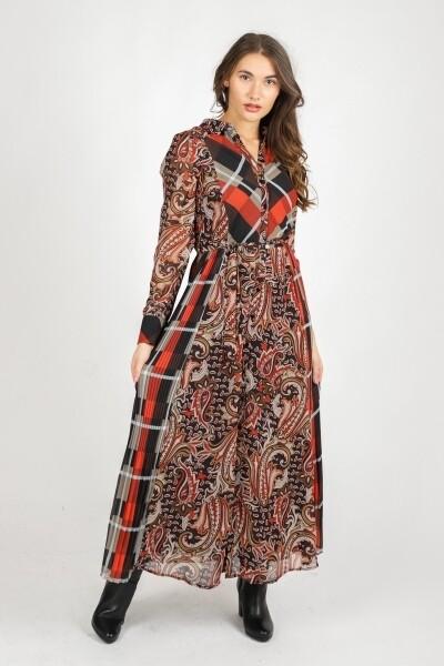 Tramontana Maxi Dress print