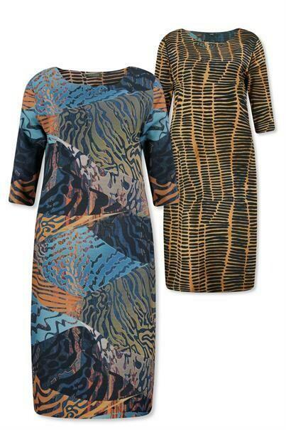 Lizzy & Coco Dress reversible Cyp print