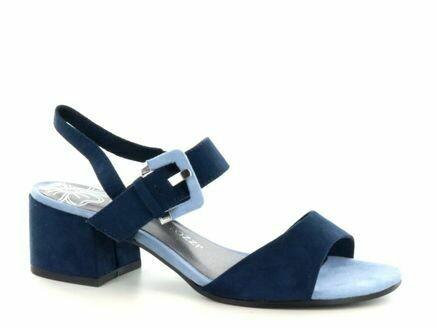 Marco Tozzi Sandal Blue combi