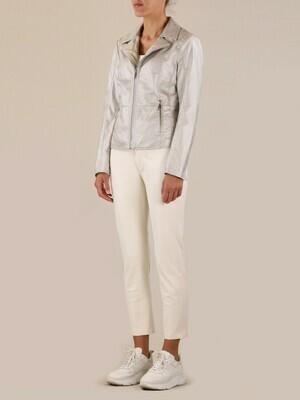 Rino & Pelle Chino pants Vegan Leather Taban Off White