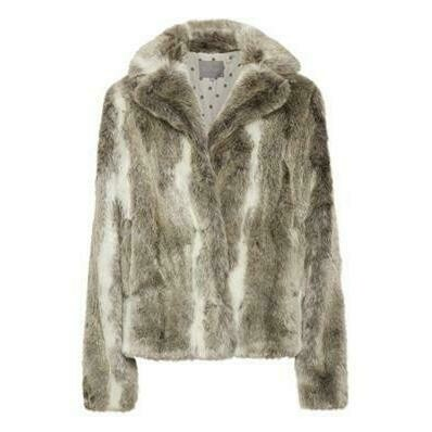 Culture Gritt Jacket Faux Fur