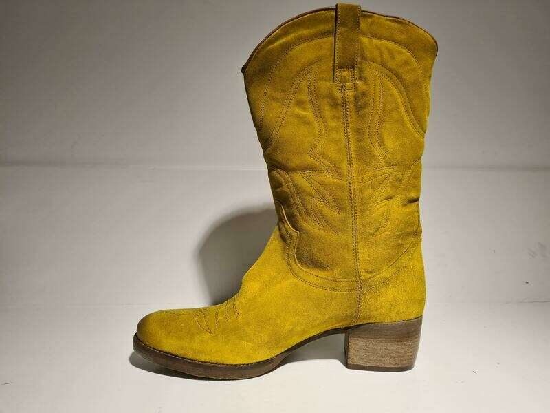 Western Boots Rex Yellow