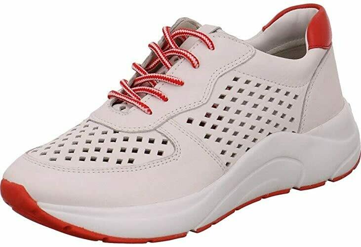 Caprice Sneaker White-red