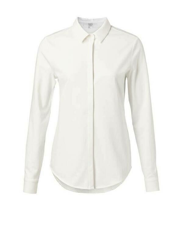YAYA Jersey cotton PURE WHITE