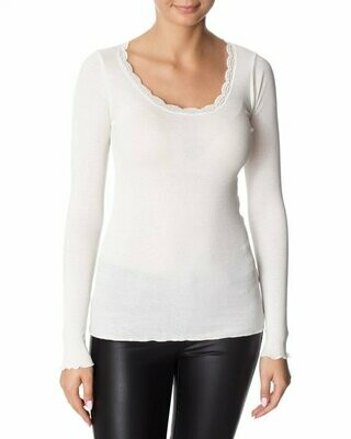 Cream longsleeve shirt creme