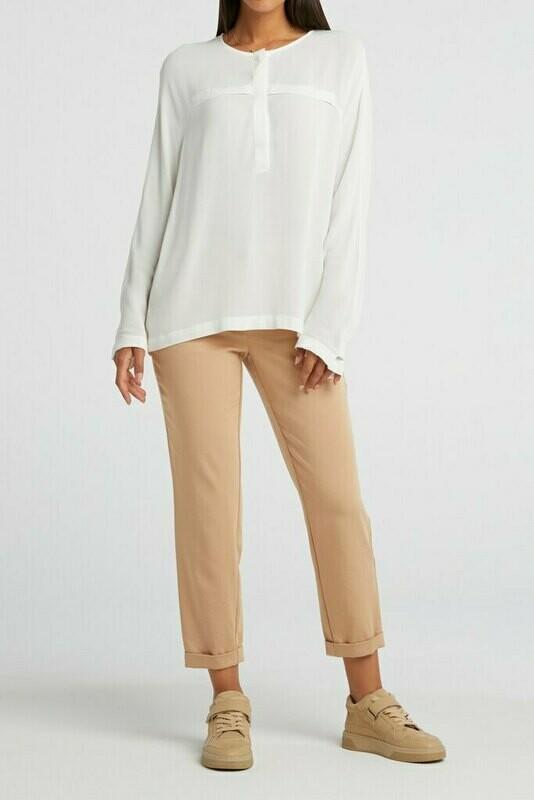 YAYA Relaxed pantalon BISCUIT DESSIN