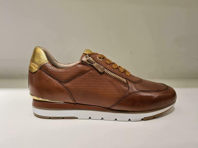 Marco Tozzi Cognac/ Gold