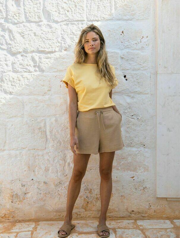 YAYA Shirt GOLDEN YELLOW