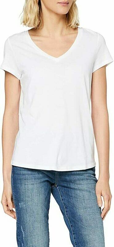 Esprit Basic V-neck white
