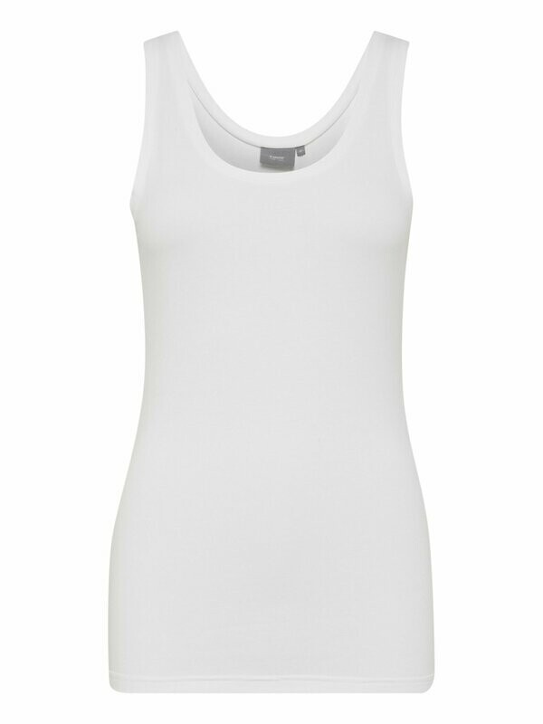 B.Young Basic Top White