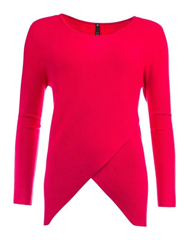 NED trui met aparte voorkant in het  rood