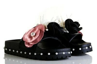 Sixty Seven Flower Black