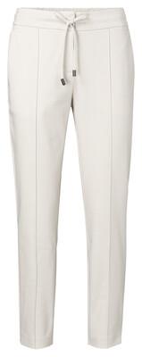 YAYA Pants Jersey cotton  PEBBLE