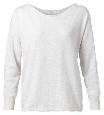 YAYA Sweater Cashmere blend BLANC DE BLANC