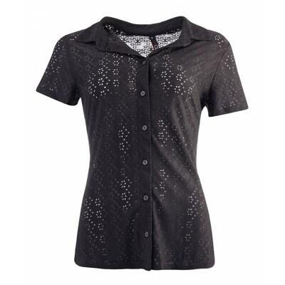 NED blouse Broderie Black