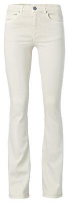 YAYA High waist flared denim Length 34 BONE WHITE