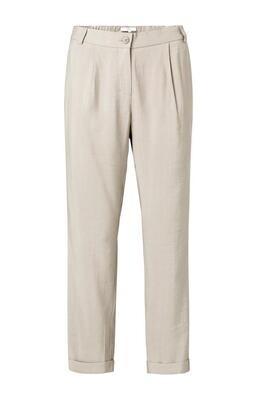 YAYA Pantalon Relaxed fit Viscose SUMMER SAND