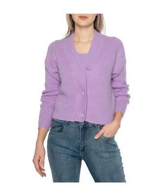 Tramontana Cardigan Short Lilac